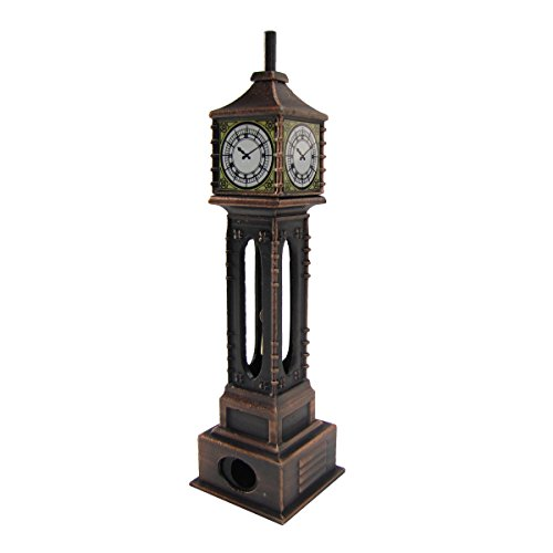 Replica Desk Clock (Die Cast Grandfather Clock Pencil Sharpener)