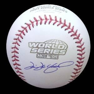 Autographed 2004 World Series Baseball - Tim Wakefield Autographed Ball - 2004 World Series - Autographed Baseballs