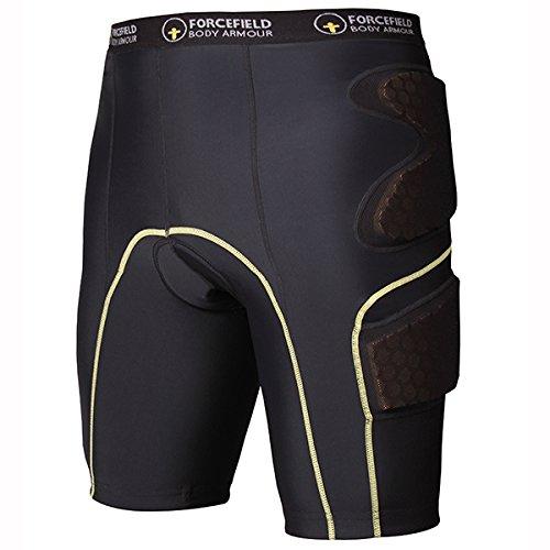 Forcefield Contakt Shorts L ブラック FF-3010-5L B071J2TNJB  L