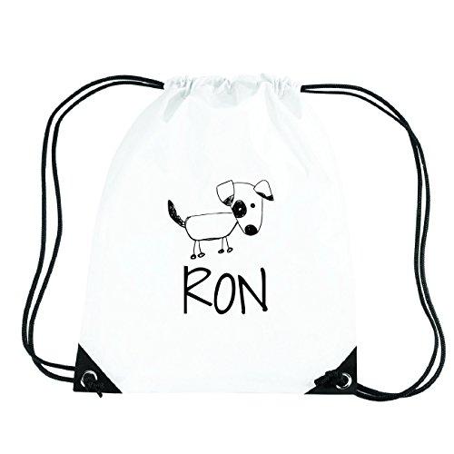 JOllipets RON Turnbeutel Sport Tasche PGYM5880 Design: Hund R8coA4n0