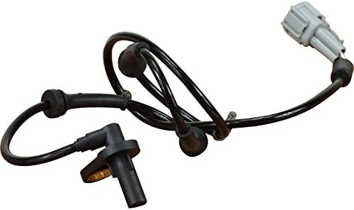 AIP Electronics ABS Anti-Lock Brake Wheel Speed Sensor Compatible Replacement For 2002-2004 Nissan Altima Rear Right Passenger Oem Fit ABS482