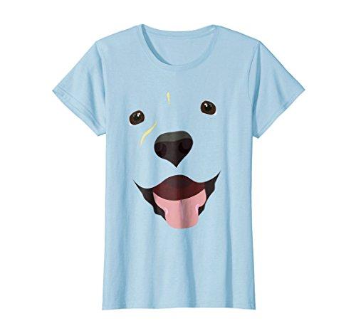Womens Labrador Face Shirt | Funny Cute Lab