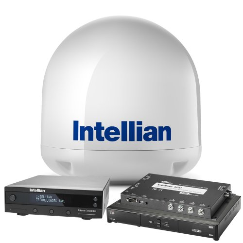 "Intellian i2 Sat TV System with 15"" Dish Reciever"