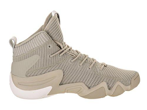 Adidas Mens Crazy 8 Adv Pk Basketbalschoen Sesam / Sesam / Wit
