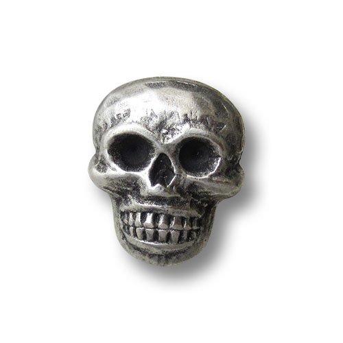 1406as Juego de 5/gruselige Metal Botones con Horror de dise/ño: Calavera. Ideal para Horror de Fans para Disfraces a Fasching, Halloween etc. tama/ño: Aprox. 15/x 18/mm. Bot/ón Paradies