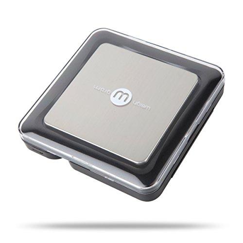 Weigh Gram Digital Pocket Scales Black Blade Series, 650 by 0.1 G (Series Digital Scale)
