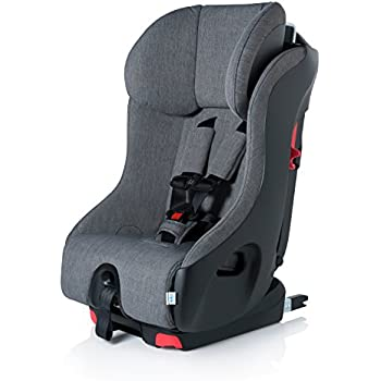 Clek Foonf Rigid Latch Convertible Baby And Toddler Car Seat Rear Forward Facing With Anti Rebound Bar Thunder 2018