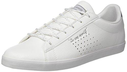 Lo Agate Femme Lea metallic optical Le Coq Blanc Si Sportif S Baskets White old fwftSE