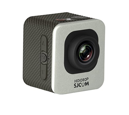 "Original SJCAM M10 12MP 1080P Cube Mini Sports Action Camera 1.5"" LCD 170 Degree Wide Lens Waterproof Diving HD Camcorder DV Silver Action Cameras SJCAM"