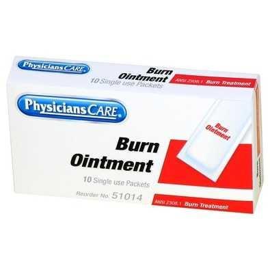Bulk Burn Cream, First Aid Kit Refills, 10 p/Box: Acme FAOFAE7011 (24 Boxes of Burn Cream)