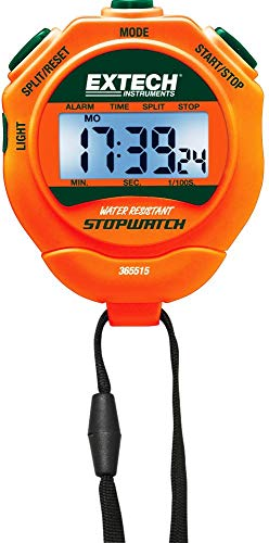Extech 365515-NIST Digital Stopwatch, Backlit LCD ()