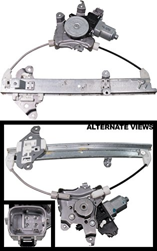 Replace Car Window Regulator - APDTY 859638 Power Window Motor Regulator Assembly Fits Rear Right 2007-2012 Nissan Altima 2009-2014 Maxima (Passenger-Side Rear; Replaces 82730-JA00A, 82730JA00A)