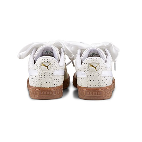 Puma Damen Mand Hart Perf Gom Sneaker Gold / Weiß