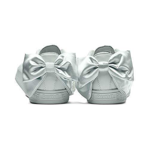 Wn's Puma Basket Basses Femme Bleu Sneakers Bow Brw1xwq8PE
