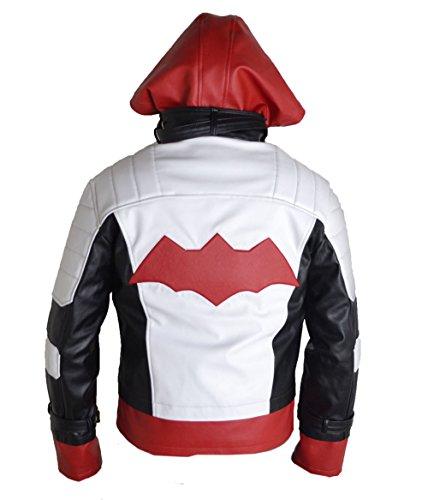 HLS Herren Jacke Mehrfarbig Rot / Weiß