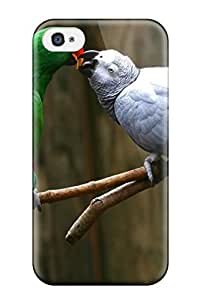 New Premium DPatrick Love Parrots Skin Case Cover Excellent Fitted For Iphone 4/4s