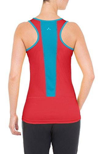 Vaude - Camisa / Camiseta para mujer Rojo