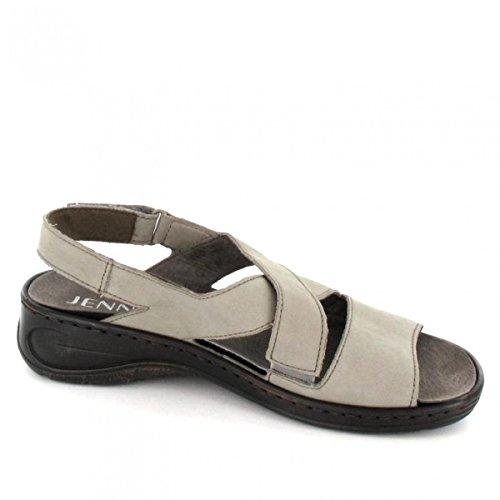 Jenny 56556 - Sandalias de vestir para mujer gris