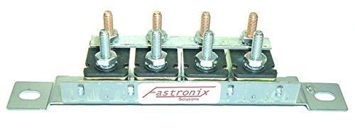 Fastronix Automotive Circuit Breaker Panel with Auto-Reset (4 - 20A Panel)
