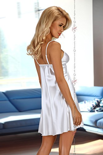 Beauty Night Fashion - Camisola - Básico - Sin mangas - para mujer blanco