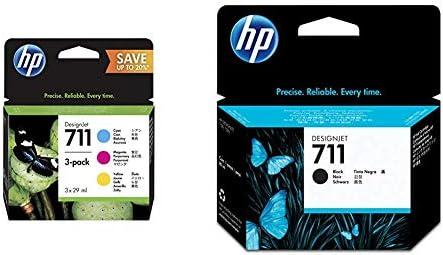 Hewlett Packard P2V32A Cartucho de tinta + CZ133A 711 Cartucho de ...
