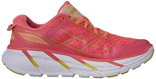 Zapatillas Mujer 2 Rosa HOKA Clifton Para Correr cqTCwcvRxz