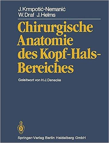 Chirurgische Anatomie des Kopf-Hals-Bereiches: Amazon.de: J ...