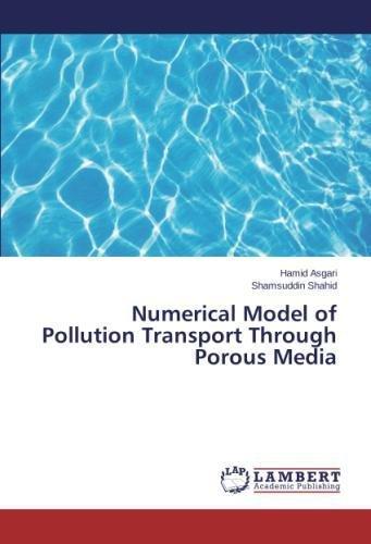 Read Online Numerical Model of Pollution Transport Through Porous Media ebook