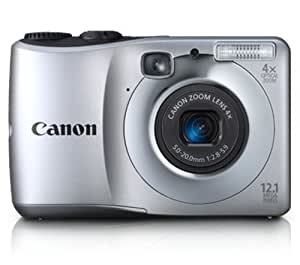 Canon Powershot  A1200 12.1 MP Digital Camera with 4x Optical Zoom (Silver)