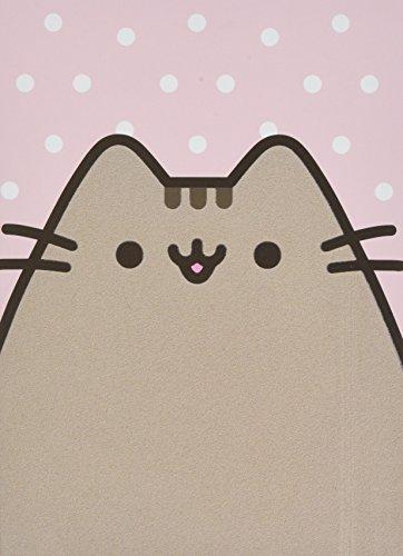Enesco Pusheen The Cat Polka Dot Notebook Journal, Pink (Felted Notebook)