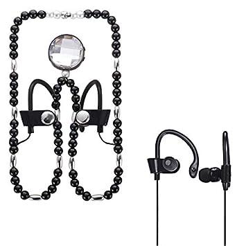 AT-BT57 Auriculares inalámbricos con Collar Bluetooth, para iPhone, Galaxy, Sony,