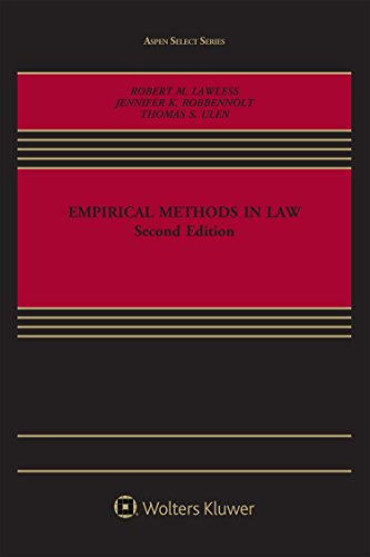Empirical Methods in Law (Aspen Select Series)