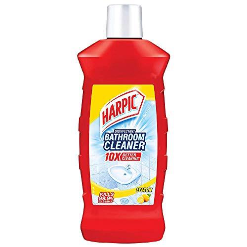 Harpic Disinfectant Bathroom Cleaner Liquid (Lemon) – 1 L