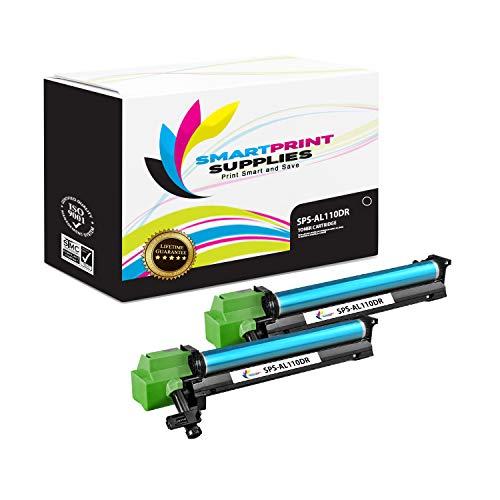 Smart Print Supplies Compatible SHP-AL110DR Drum Unit Replacement for Sharp AL1340 AL1451 AL1551 AL1631 AL1641 AL1651 AL1661 Printers (18,000 Pages) - 2 Pack ()