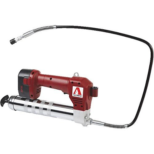 Alemite 585-B1 14.4V Cordless Grease Gun, Battery Powered, 16 oz. Bulk or 14.5 oz. Cartridge, 3-Way Loading