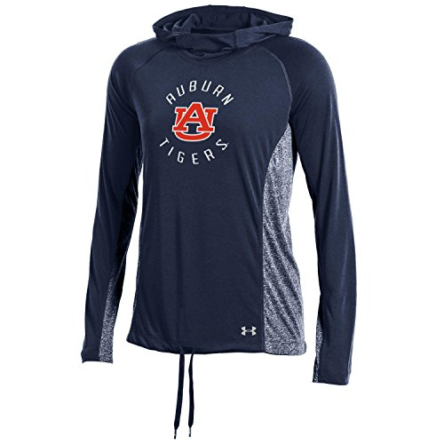 Under Armour NCAA Auburn Tigers Women's Threadborne Training Hood, Large, Navy