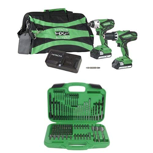KC18DGLS Combo Kit with 120 Piece Drill and Drive Set