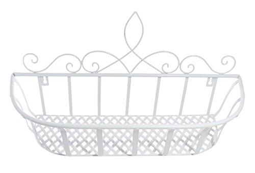 JustNile Elegant Metal Wall Mounted Rack - White Metal Magazine Rack Shopping Results