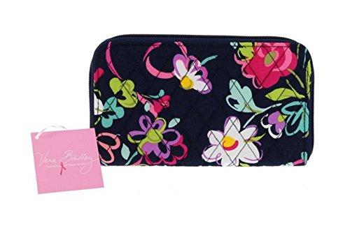 Vera Bradley Accordion Wallet (Ribbons with Pink Interior)