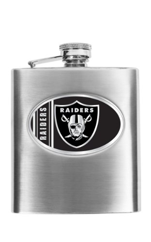Flask Oakland Raiders (Simran International NFL Oakland Raiders Hip Flask)