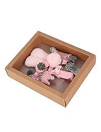 Idalinya Baby Headband Colorful Hair Ribbon For Girls Hats Kids Hair Accessories (Barbie Pink)