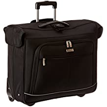 Travelers Choice Luggage Vienna Traditional Rolling Garment Bag, One Size (Black)