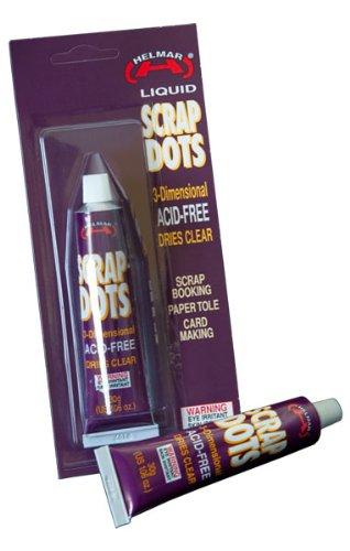 HELMAR Liquid Scrap Dots 3-Dimnesional Adhesive 1.06 oz ()