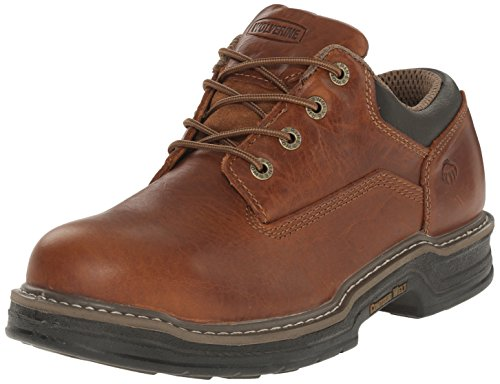 Wolverine Men's Raider Oxford Steel Toe EH Work Boot, Brown, 11.5 M (Wolverine Oxford Shoe)