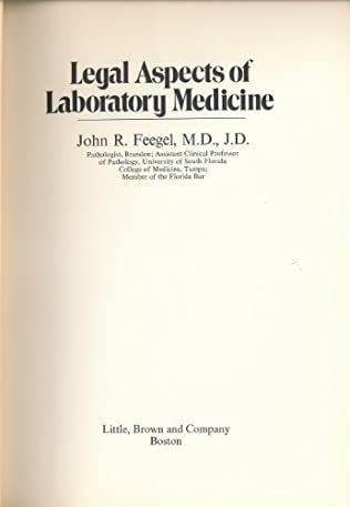 book cover of Legal Aspects of Laboratory Medicine