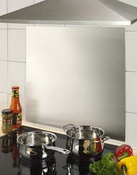M&M Wandverkleidung und Spritzschutz aus Edelstahl: Amazon.de: Küche ...