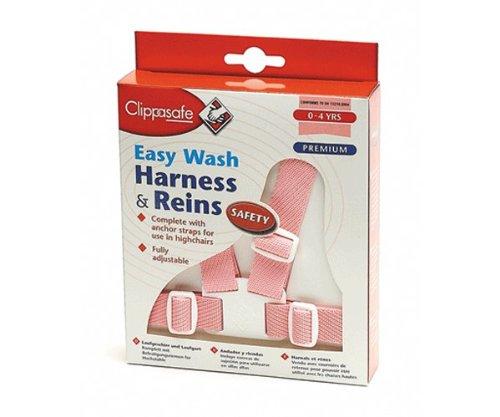 Schutzgurt Clippasafe Easy Wash Harness /& Reins mehrfarbig