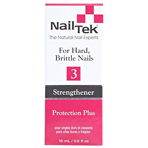 Nailtek Protection Plus III for Dry Brittle Nails, 0.5 Fluid Ounce