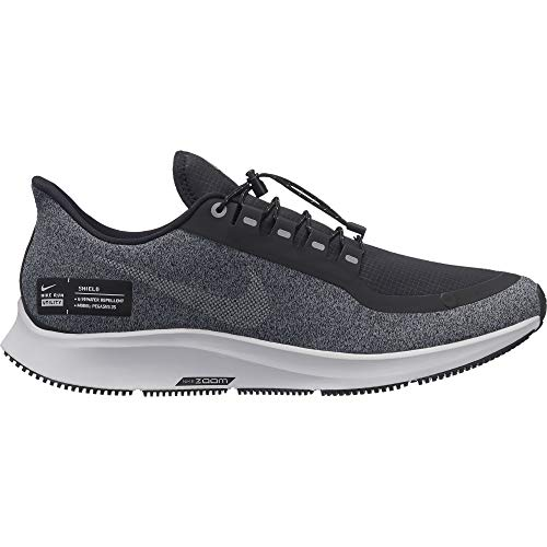 Nike Men's Air Zoom Pegasus 35 Shield Running Shoe, Black/White/Cool Grey/Vast Grey, 11.5