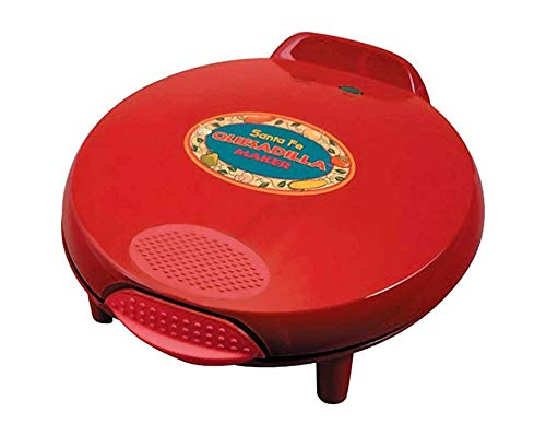 Santa Fe QM2SFRCB 900-Watt Quesadilla Maker with 50 Recipe Cookbook
